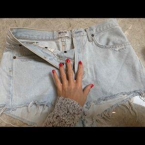 AGOLDE Parker Shorts Size 27 in color Ravage